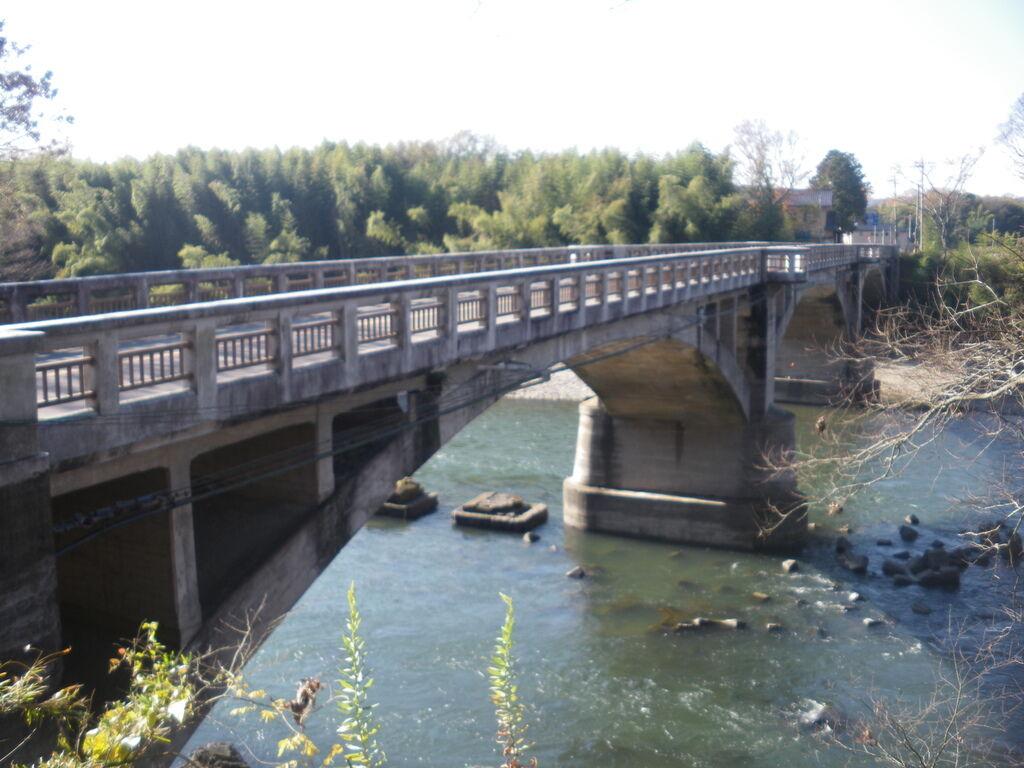 境橋 - 那須烏山市の橋・吊橋|栃ナビ!